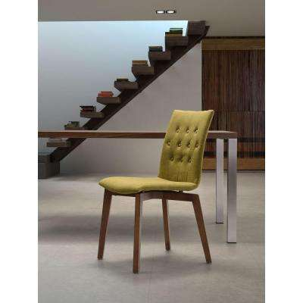 Orebro Graphite Fabric Side Chair (Set of 2)