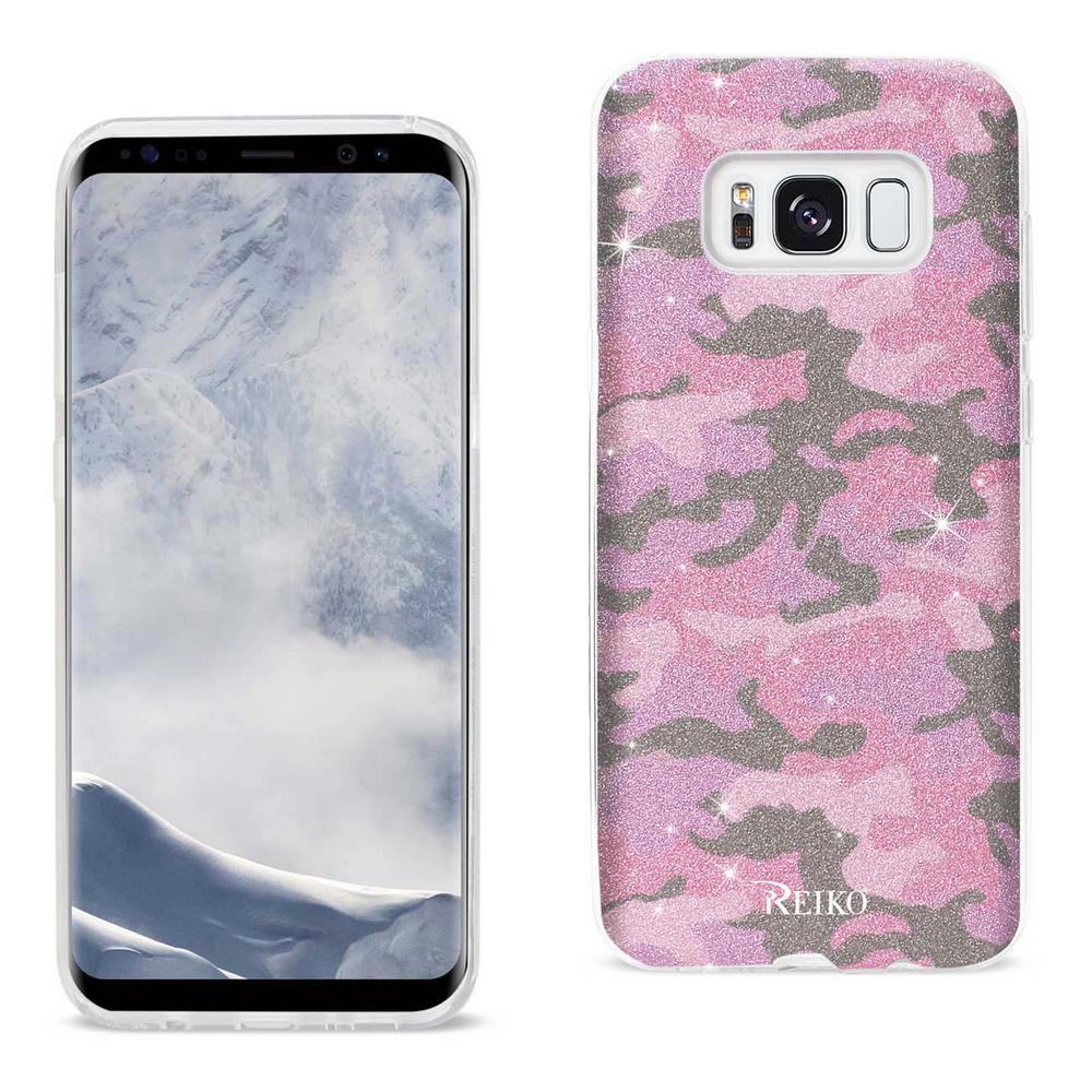 Reiko Galaxy S8 Design Case In Hot Pink Dtpu02 Sams8amhk