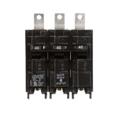 40 Amp 3-Pole Type BLH 22 kA Circuit Breaker