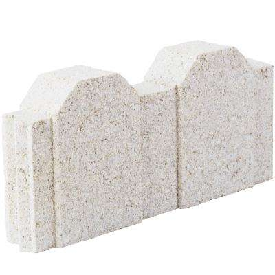 12 in. x 2 in. x 5.25 in. Straight Picket Limestone Concrete Edger (224-Pieces/220 sq. ft./Pallet)
