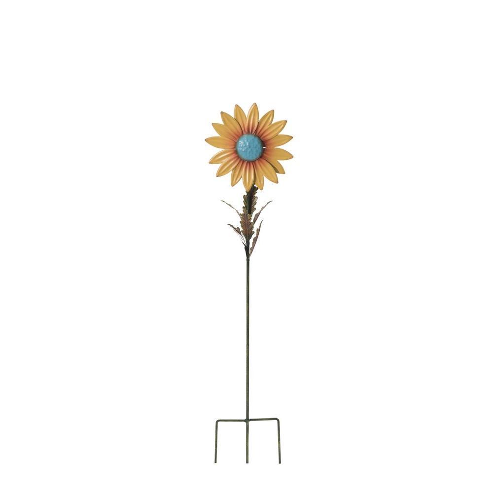 Merveilleux Sunjoy Sunflower Garden Stakes