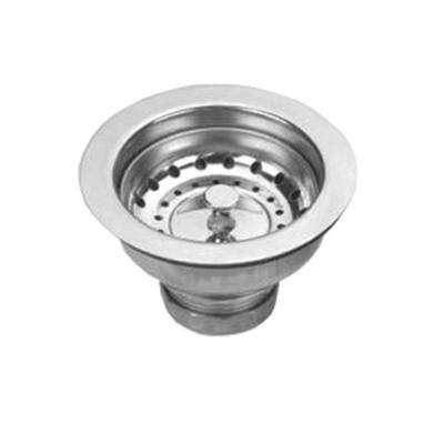Noah's Collection 3-1/2 in. Basket Strainer in Stainless Steel for Stainless Steel Sinks