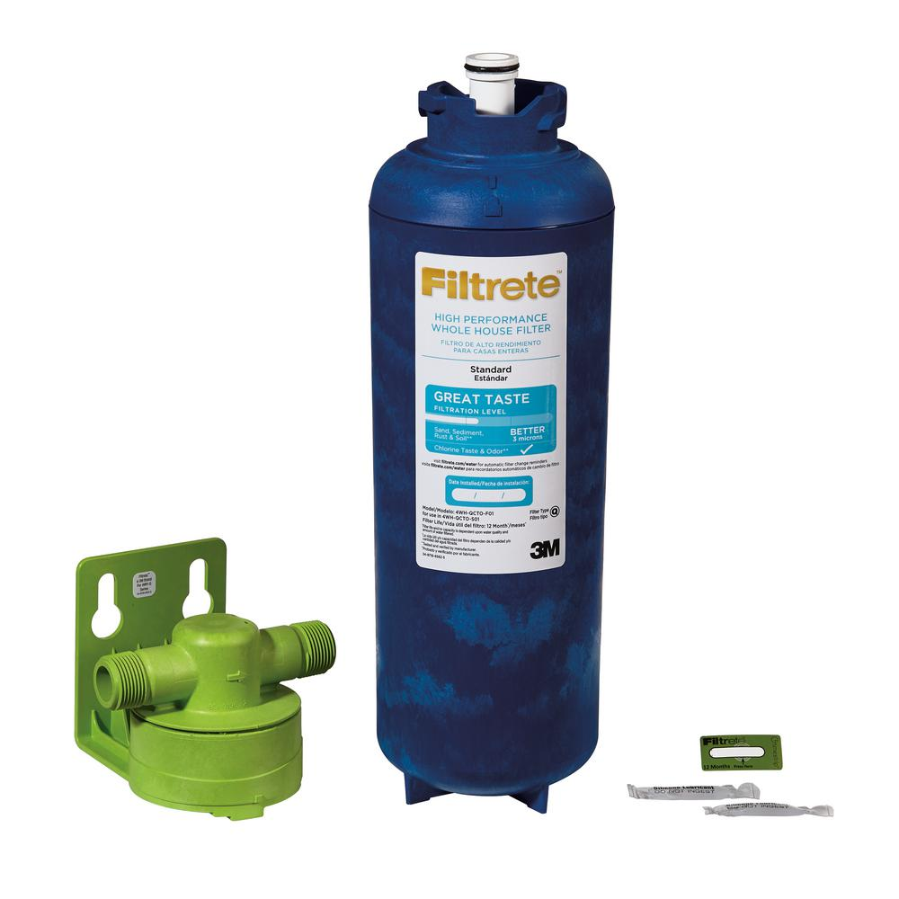 Filtrete Large Capacity High Performance Whole House Standard Filtration System