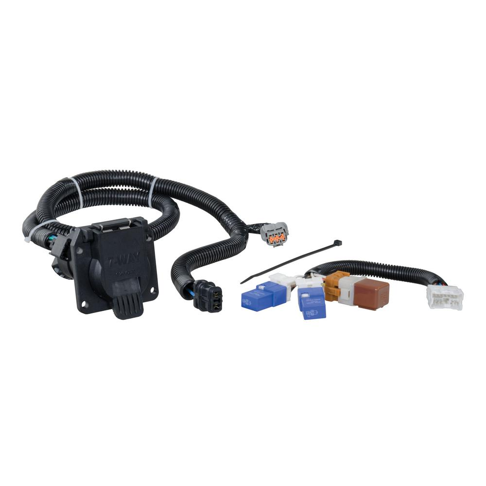Excellent Curt Custom Wiring Connector 7 Way Rv Blade Output 56226 The Wiring 101 Taclepimsautoservicenl