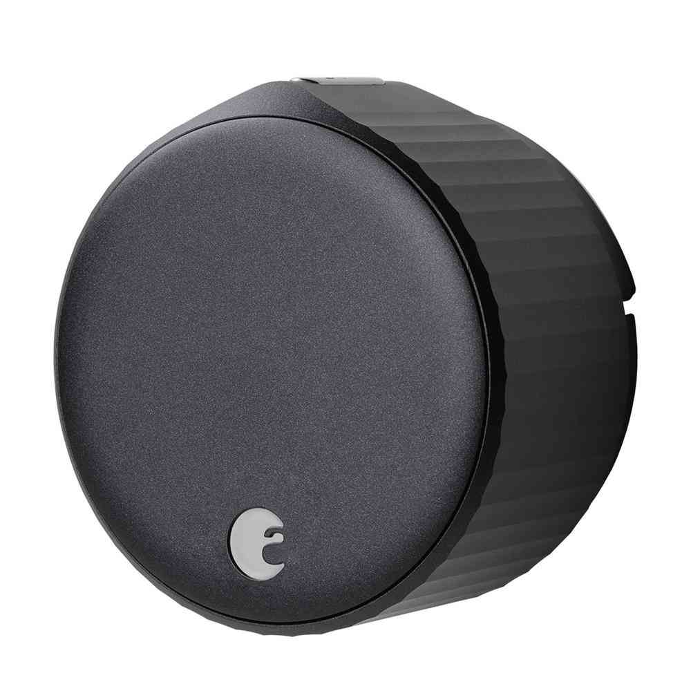 August Wi-Fi Smart Lock Matte Black Single Cylinder Deadbolt - Sale: $239.99 USD (4% off)