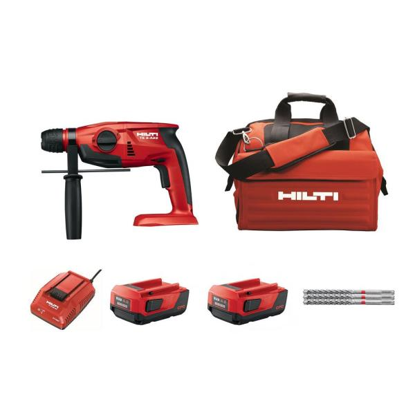 TE 2-A 22-Volt Lithium-Ion SDS-Plus Cordless Rotary Hammer Drill Kit
