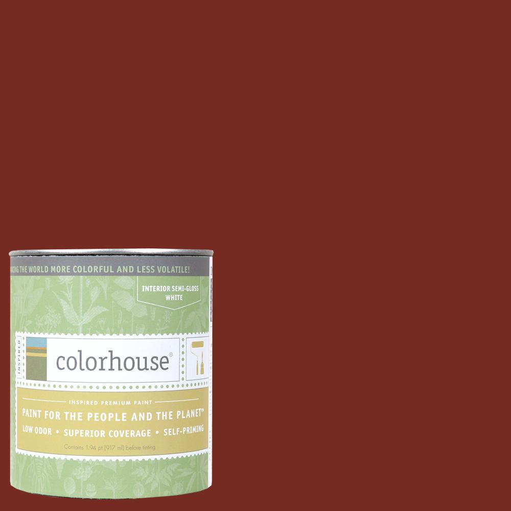 1 qt. Clay .05 Semi-Gloss Interior Paint
