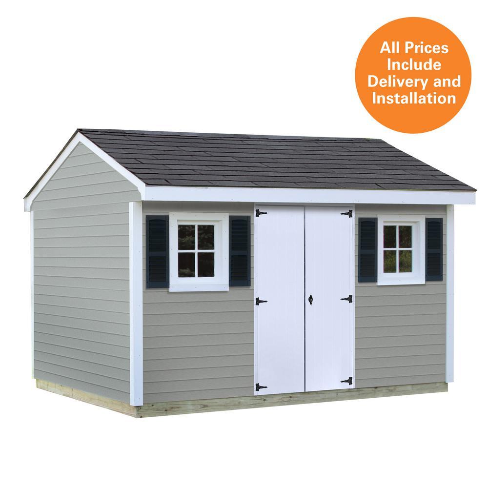 Vinyl Sheds Product : Sheds usa installed classic ft vinyl shed
