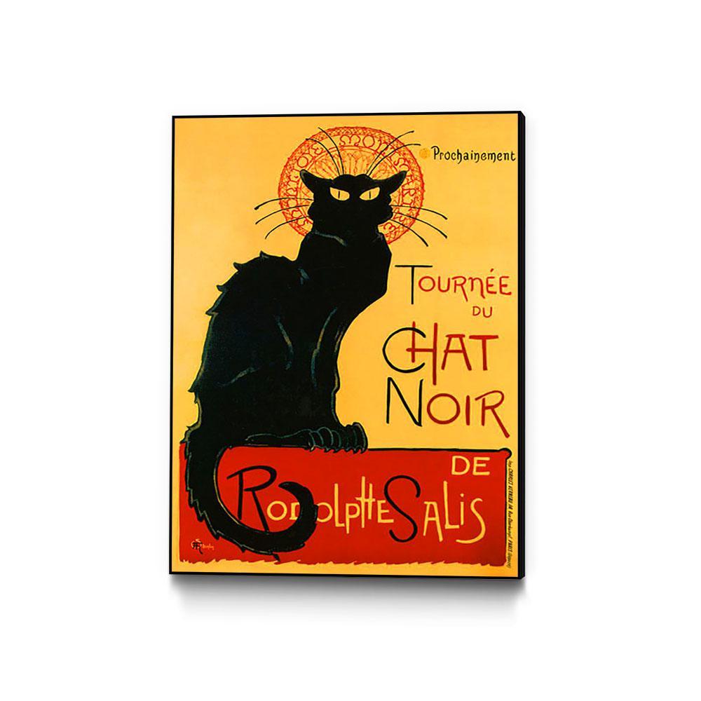"Chat Noir poster by Steinlen 16/"" x 20/"""