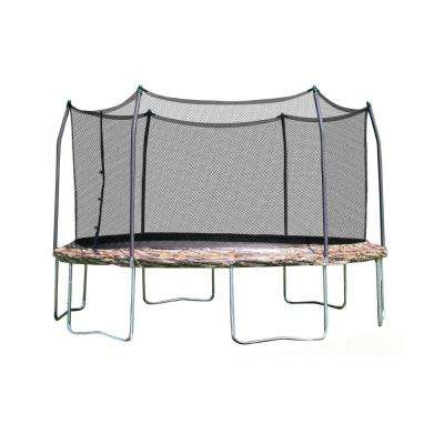 Skywalker Trampolines 12 ft. Round Trampoline with Enclosure - Camo