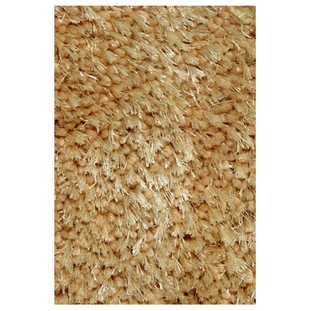 LA Rug Super Shag Beige 1 ft. 11 in. x 7 ft. 3 in. Runner