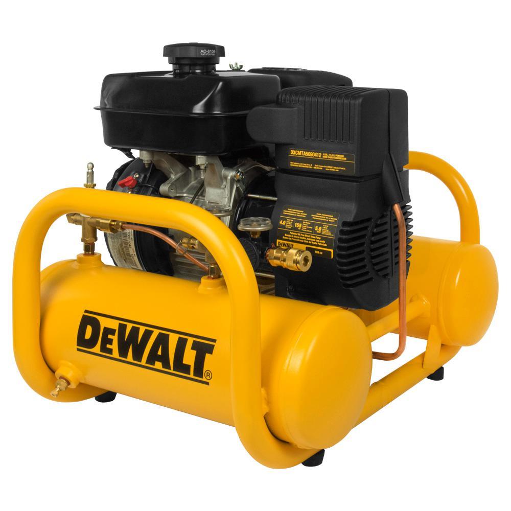 4 Gal. Portable Subaru Gas Powered Oil Free Direct Drive Air Compressor