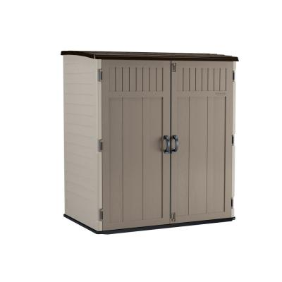 5 ft. 10.5 in. x 3 ft. 8.25 in. x 6 ft. 5.5 in. XL Vertical Storage Shed