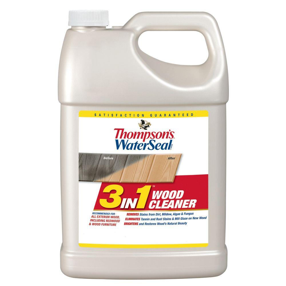 Thompson\'s WaterSeal 1 gal. 3 in 1 Wood Cleaner (4-Pack)-TH.074871 ...