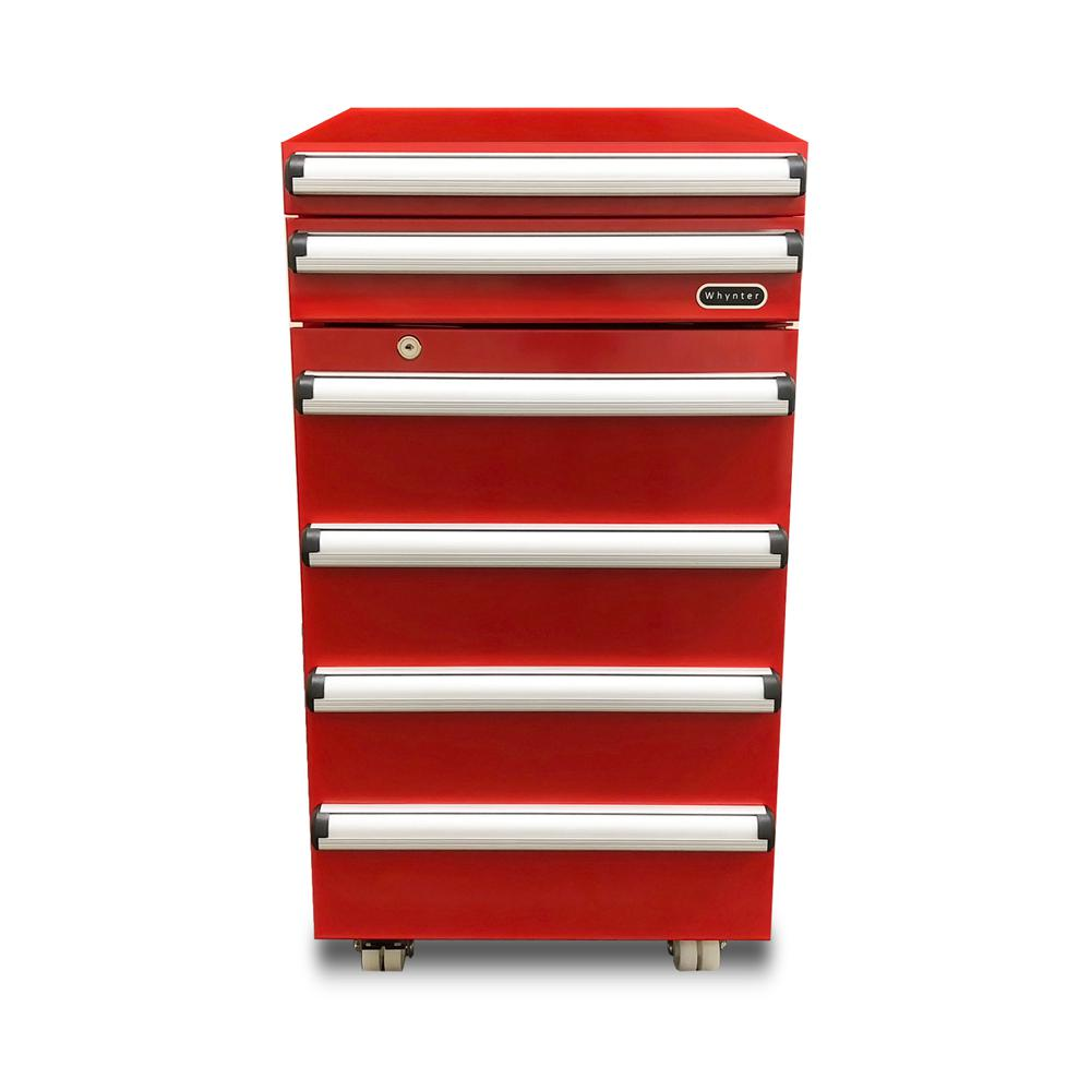 Whynter Portable 1 8 Cu Ft Tool Box Refrigerator In Red