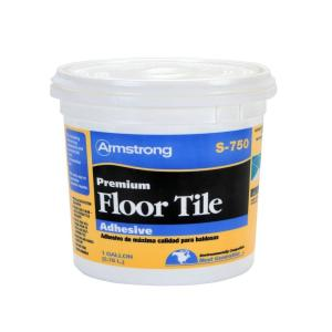 Armstrong S-750 1 Gal. Resilient Tile Adhesive by Armstrong