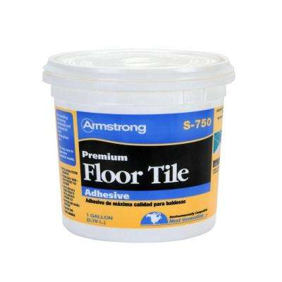 S-750 1 Gal. Resilient Tile Adhesive