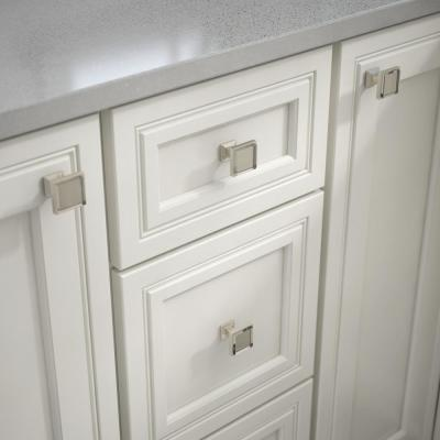 Square Cabinet Knobs Cabinet Hardware The Home Depot