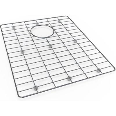 Crosstown 15 in. x 18 in. Bottom Grid for Kitchen Sink in Stainless Steel