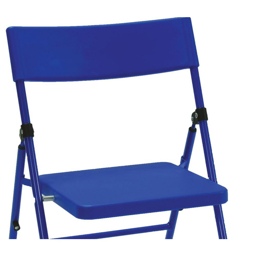 Pleasing Cosco Blue Plastic Seat Kids Folding Chair Set Of 4 Ocoug Best Dining Table And Chair Ideas Images Ocougorg