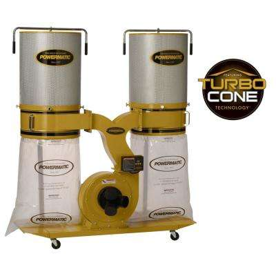PM1900TX-CK1 3HP 1PH Dust Collector with 2M Canister Kit