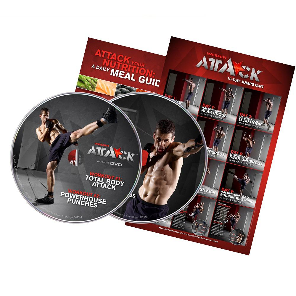 Weider Attack DVD Kit
