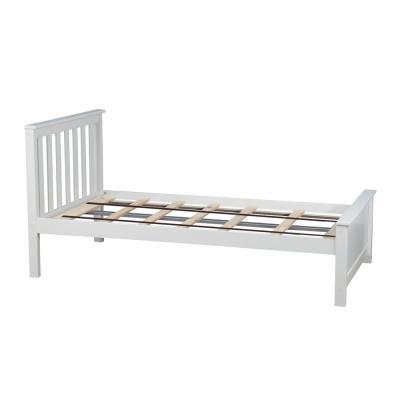 White Twin Single Bed