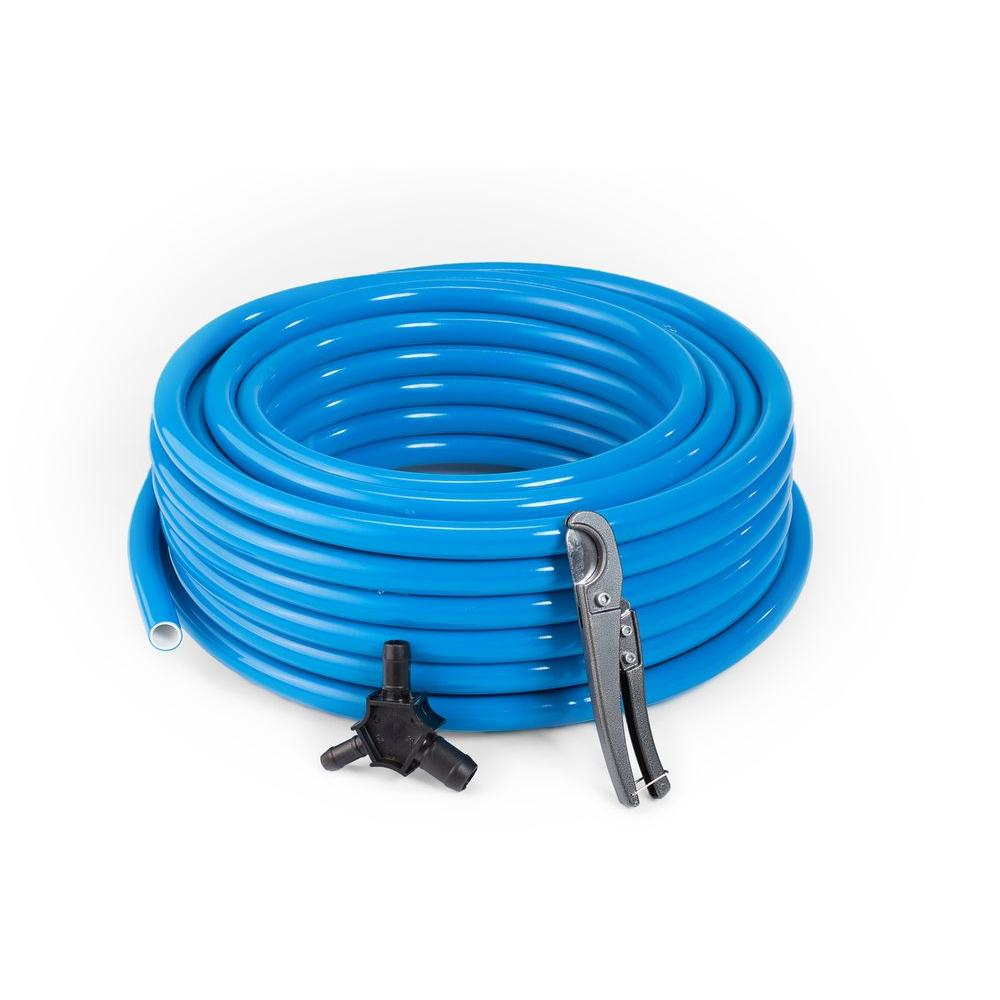 MaxLine 5/8 in. OD x 1/2 in. ID x 100 ft. High Density Polyethylene Tubing Kit