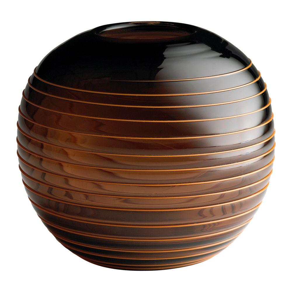 Filament Design Prospect 7 in. x 8 in. Brown Vase