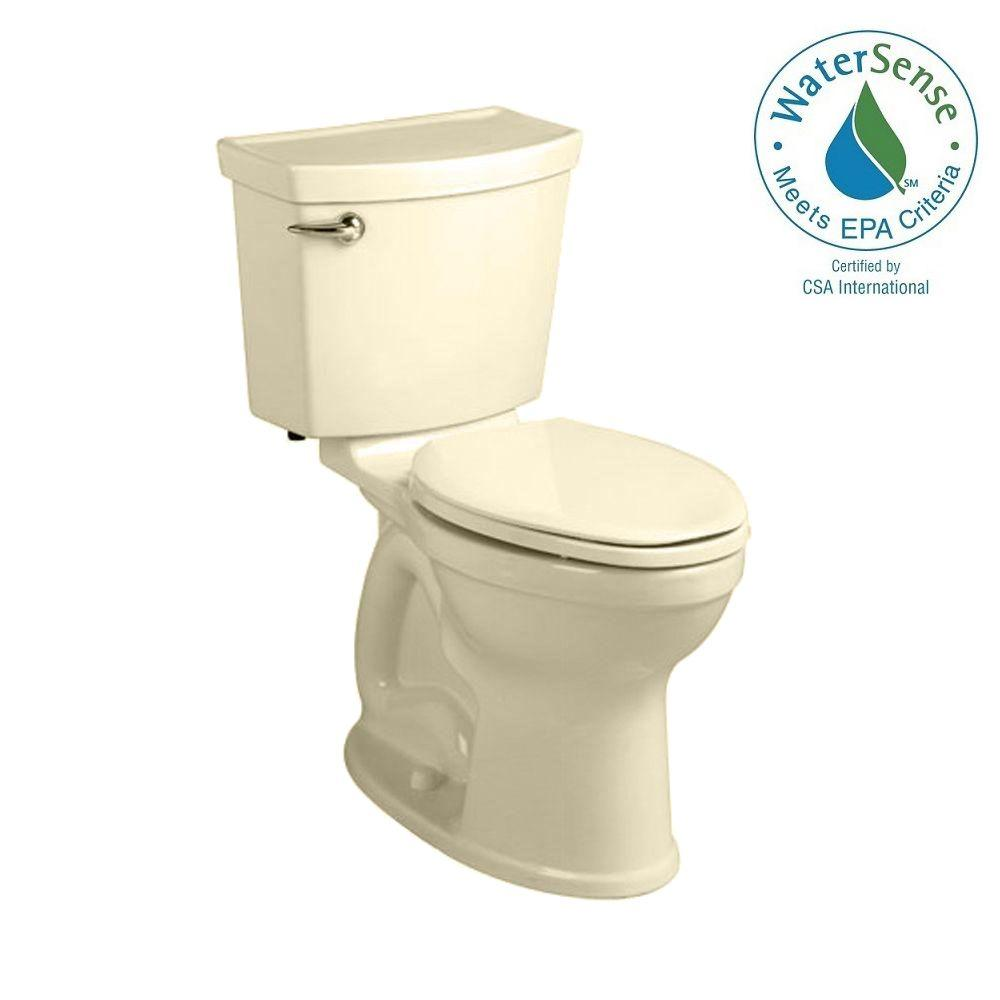 Champion 4 HET Tall Height 2-piece 1.28 GPF High-Efficiency Round Toilet