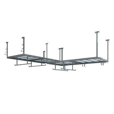 VersaRac Set with 2-Overhead Rack and 14-Piece Accessory Kit (Versarac, Overhead with 12-Piece Hook Kit, Hanging Bars)