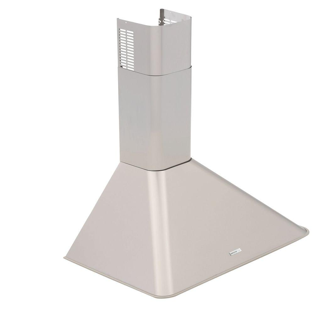 Broan Chimney Hoods ~ Broan elite rm in chimney convertible range hood