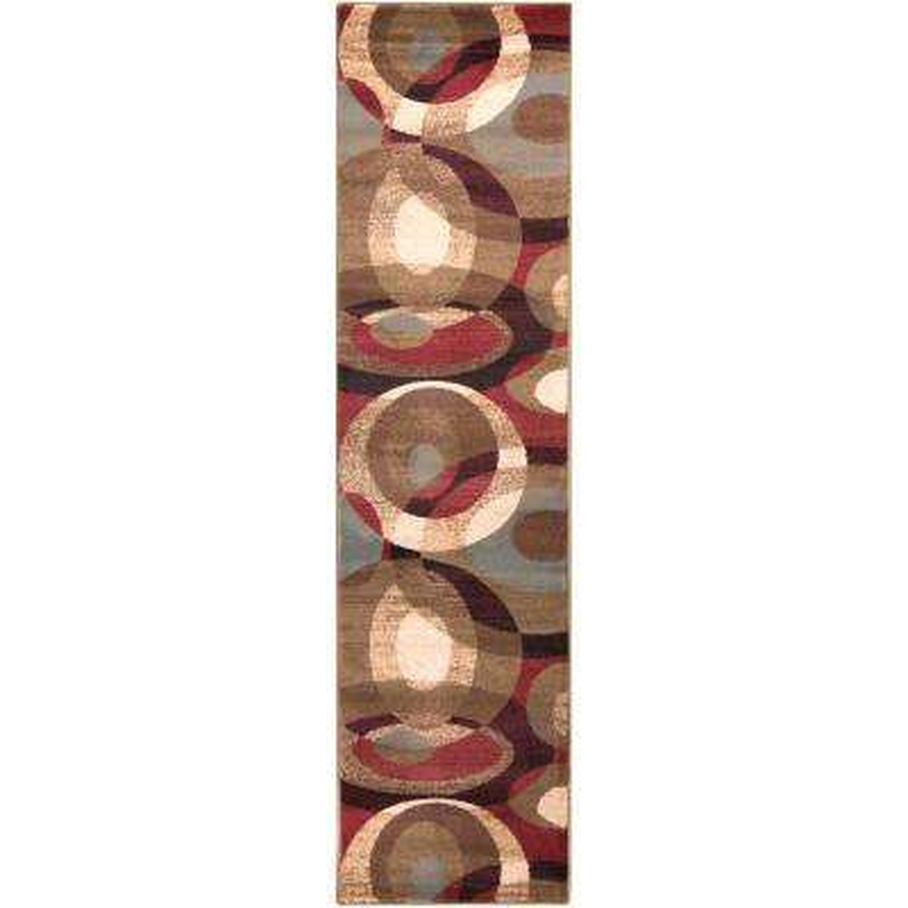 Collipulli Tea Leaves 2 ft. x 7 ft. Runner Rug