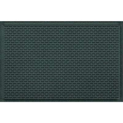 Stitch Evergreen 24 In. X 36 In. Polypropylene Door Mat