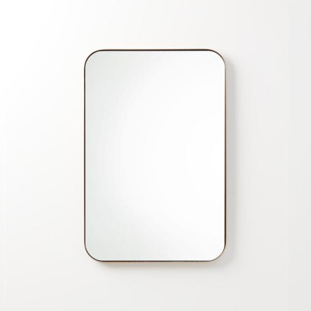 Better Bevel 30 In X 40 Metal, 30 X 40 Framed Bathroom Mirror