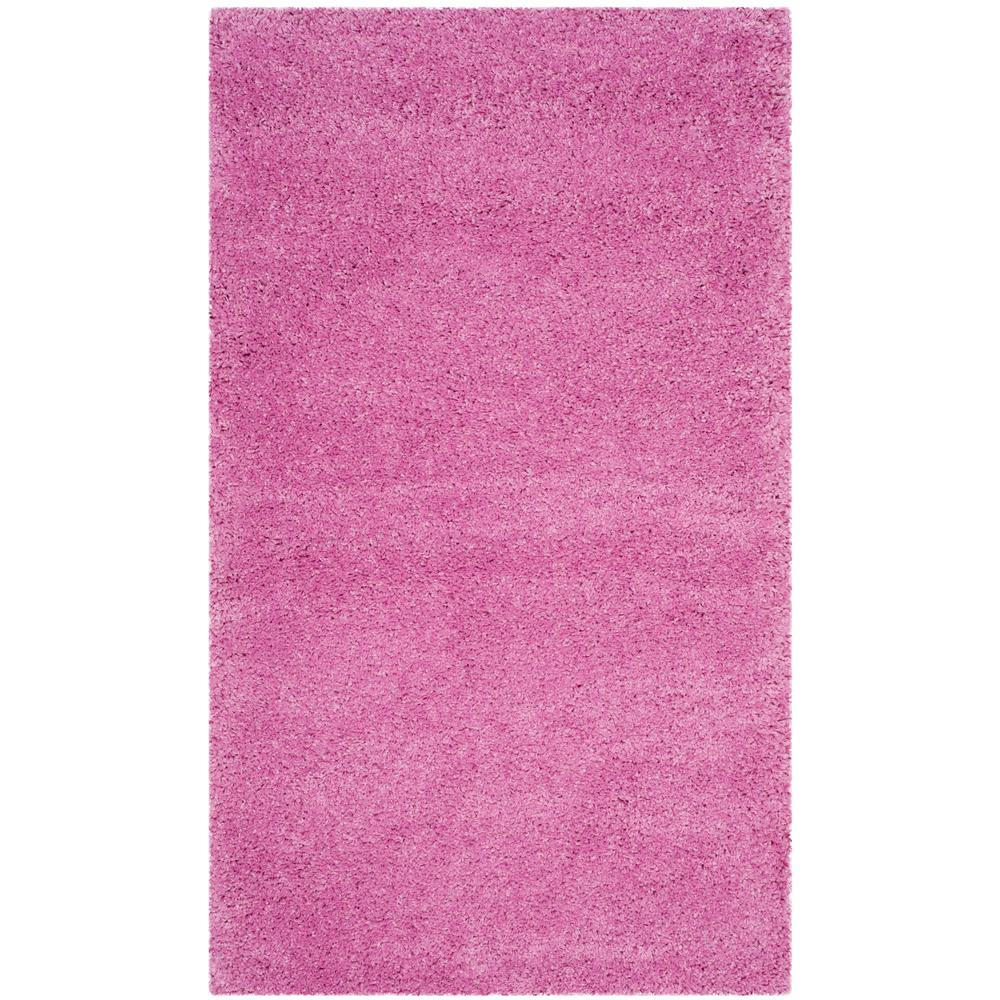 Safavieh Santa Monica Shag Pink 3 Ft X 5 Area Rug