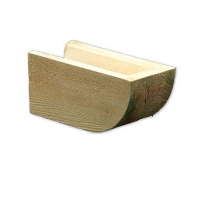 3-1/4 in. x 7-1/4 in. x 24 in. Polyurethane Timber Rafter Tail