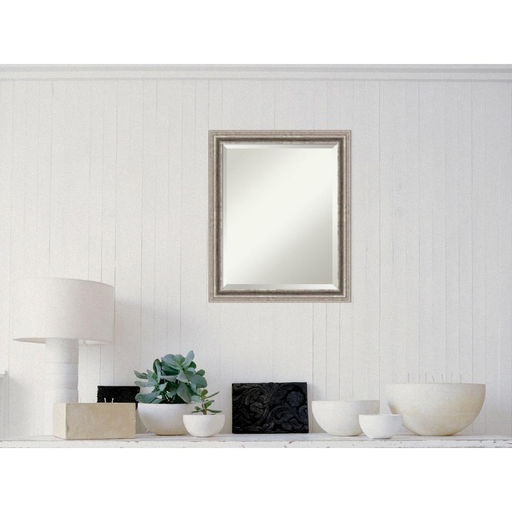Amanti Art Bel Volto Silver Wood 31 In W X 25 H Contemporary