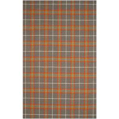 Plaid 6 X 9 Wool Area Rugs Rugs The Home Depot