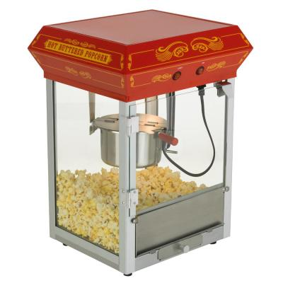 Carnival Style 4 oz. Red Countertop Popcorn Machine