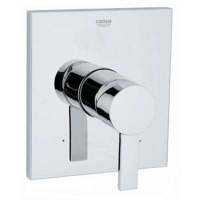 Allure 1-Handle GrohSafe Pressure Balance Valve Trim Kit in StarLight Chrome (Valve Sold Separately)