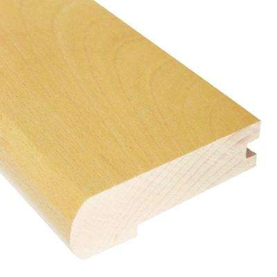 Vintage Maple Natural 0.81 in. Thick x 2-3/4 in. Wide x 78 in. Length Hardwood Flush-Mount Stair Nose Molding