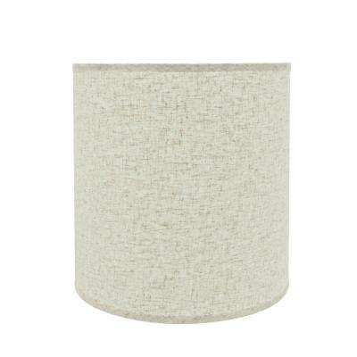 15 in. x 15 in. Beige Hardback Empire Lamp Shade