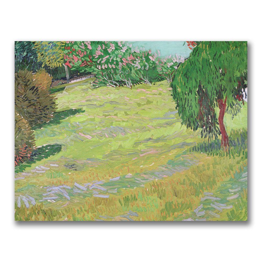Trademark Fine Art 18 in. x 24 in. Field in Sunlight Canvas Wall Art ...