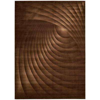 Somerset Chocolate 7 ft. 9 in. x 10 ft. 10 in. Area Rug