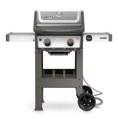 Spirit II S-210 2-Burner Natural Gas Grill in Stainless Steel