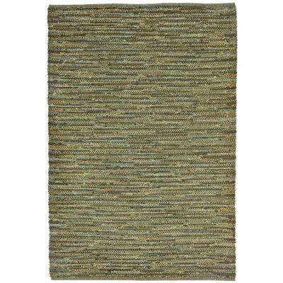 Exceptional Mali Furrow Green 7 Ft. 6 In. X 9 Ft. 6 In.