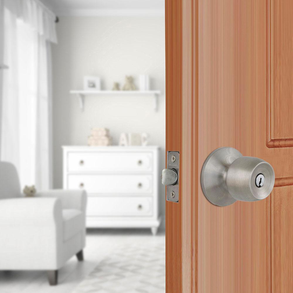 Brandywine Stainless Steel Keyed Entry Door Knob