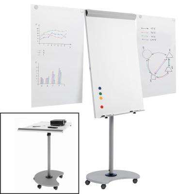 Rocada Transformer Multi-Functional Flipchart with White Dry Erase board