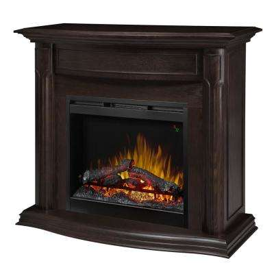 Gwendolyn 47-3/4 in. Freestanding Electric Mantel in Espresso